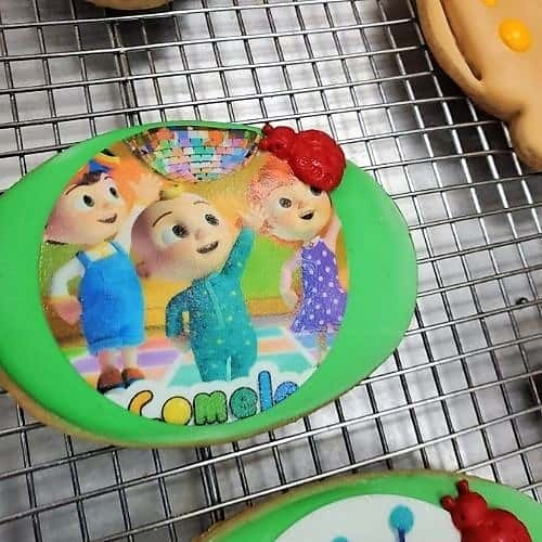Lucy's Cakes & Crumbs - Cocomelon Cookie