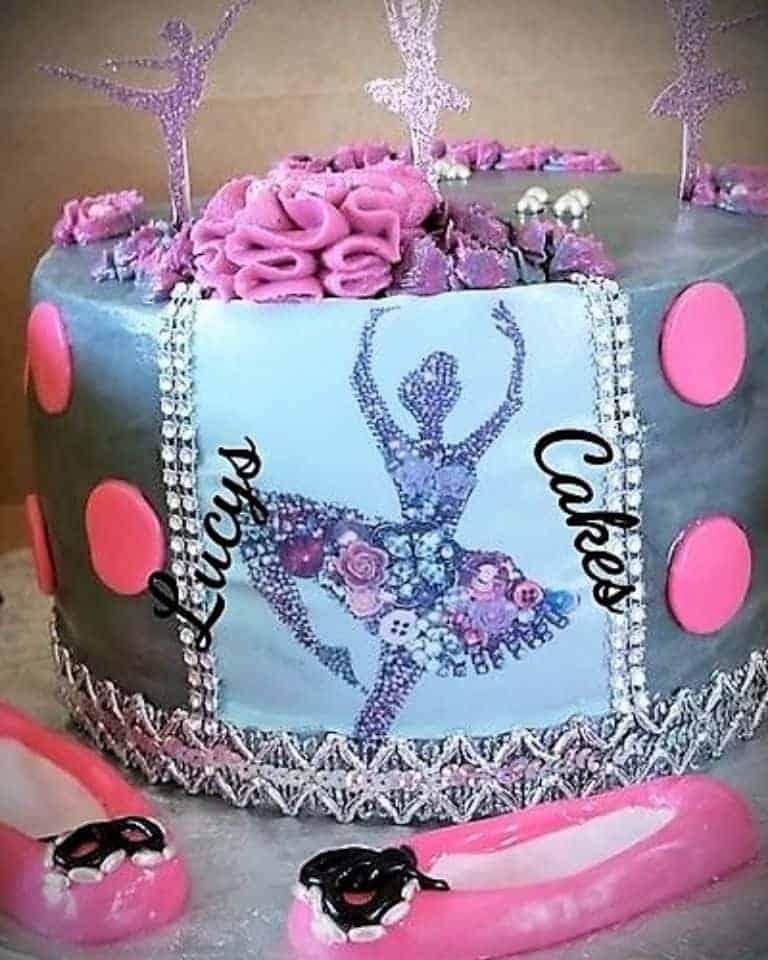 Lucy's Cakes & Crumbs - Ballerina 2