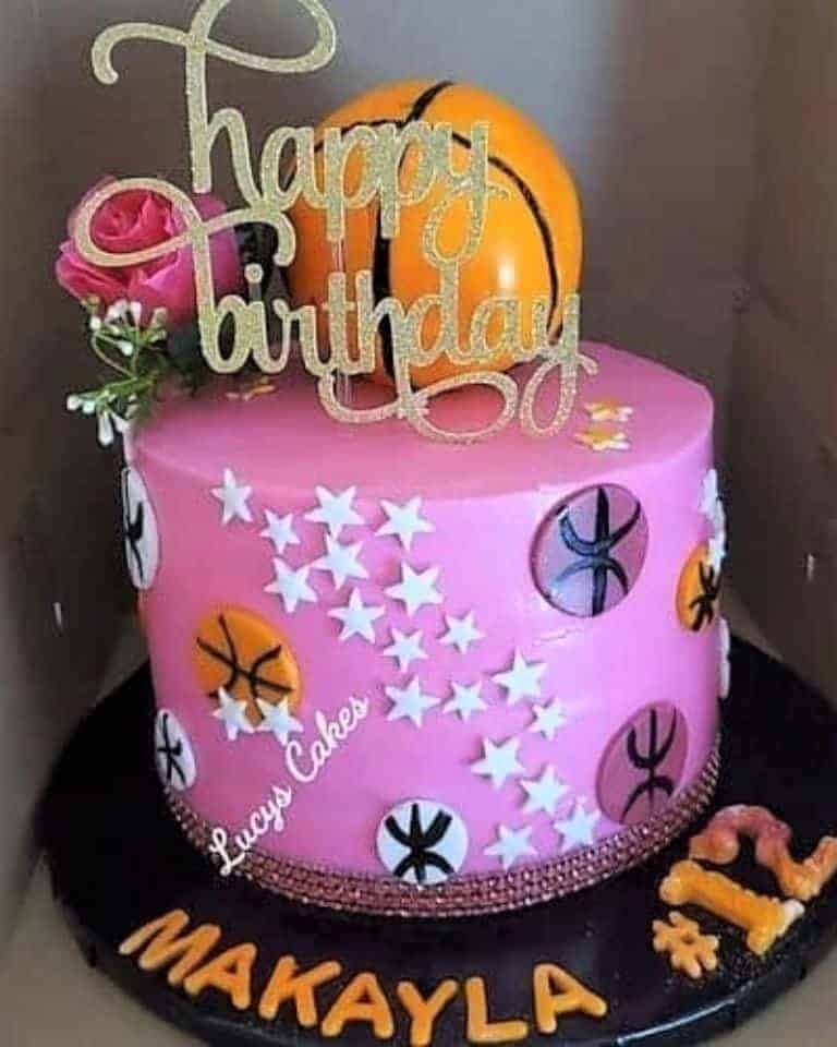 Lucy's Cakes & Crumbs - Basketball