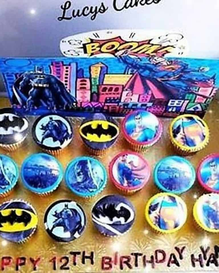 Lucy's Cakes & Crumbs - Batman