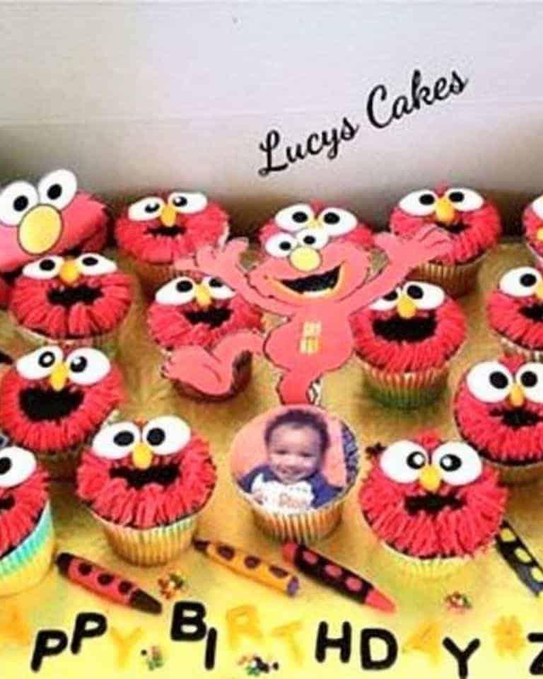 Lucy's Cakes & Crumbs - Elmo