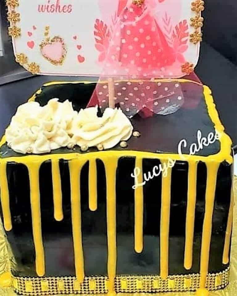 Lucy's Cakes & Crumbs - Gold Drop