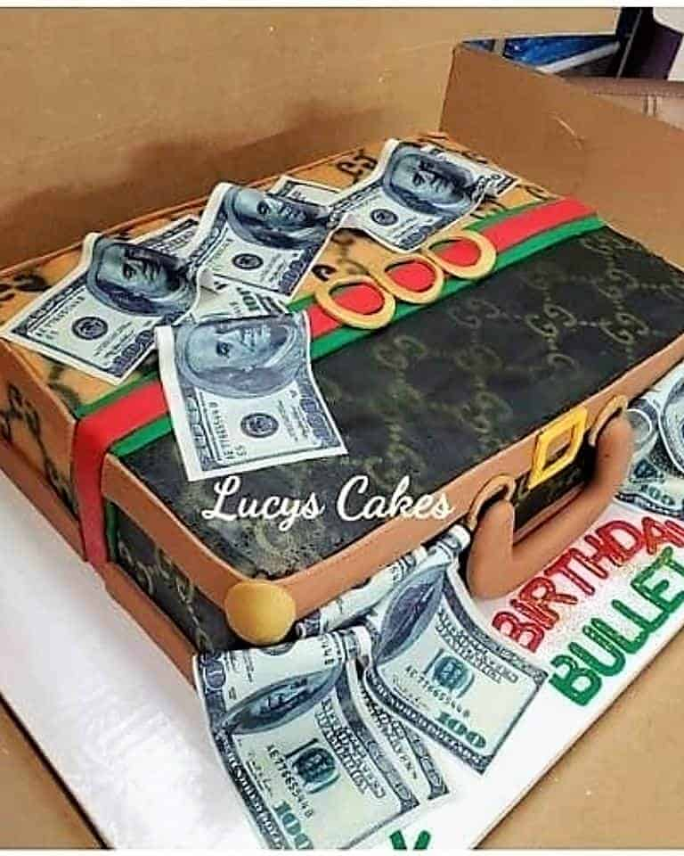 Lucy's Cakes & Crumbs - Gucci Bullet