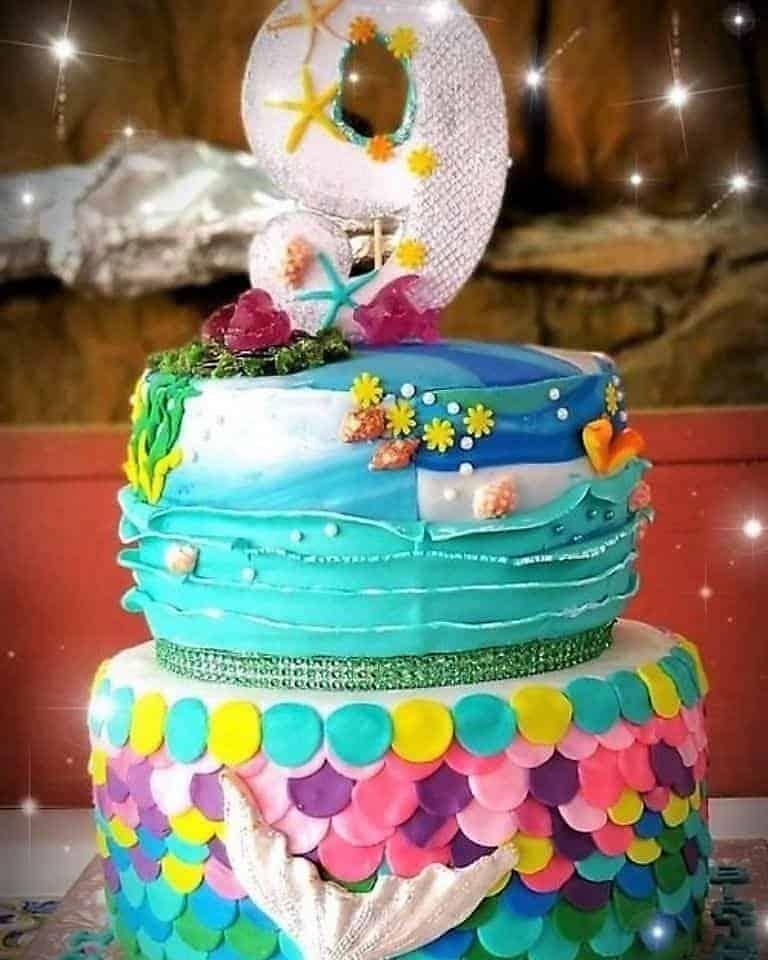 Lucy's Cakes & Crumbs - Mermaid