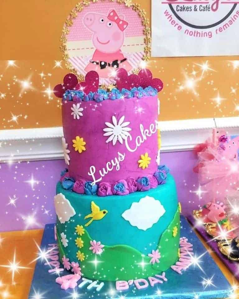Lucy's Cakes & Crumbs - Peppa Pig