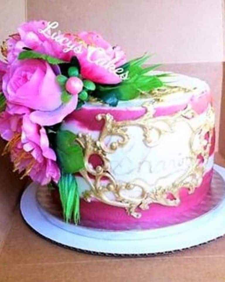 Lucy's Cakes & Crumbs - Pink