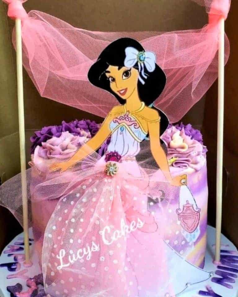 Lucy's Cakes & Crumbs - Princess Jasmine