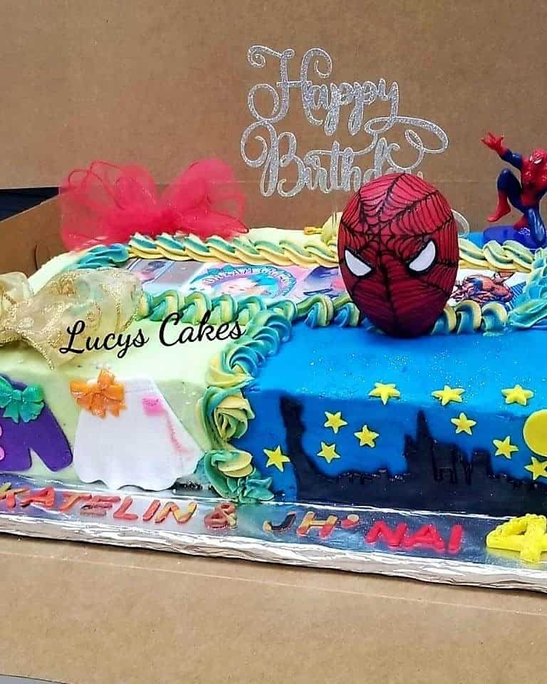 Lucy's Cakes & Crumbs - Spiderman