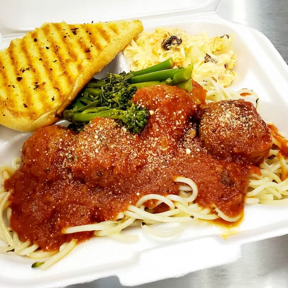 Lucy's Cakes & Crumbs - Lunch Meatballs