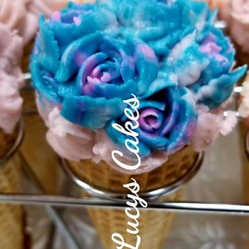 Lucy's Cakes & Crumbs - Cupcake Cones