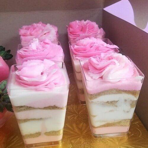 Lucy's Cakes & Crumbs - Dessert Cups