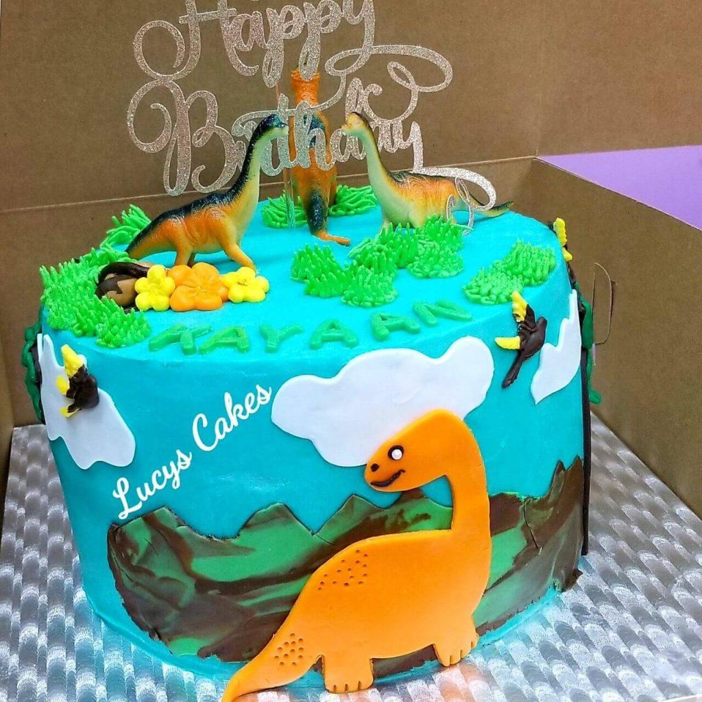 Lucy's Cakes & Crumbs - Dinosaur