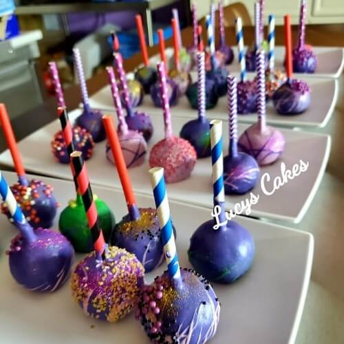 Lucy's Cakes and Crumbs - Galaxy Pops