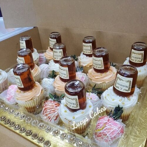 Lucy's Cakes & Crumbs - Hennessey Cupcakes