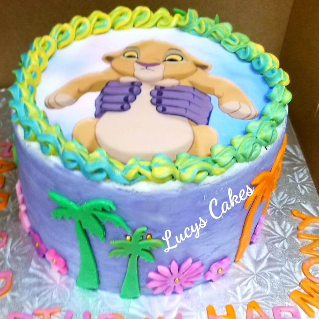 Lucy's Cakes & Crumbs - Lion King