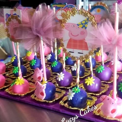 Lucy's Cakes and Crumbs - Peppa Pig Pops