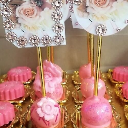 Lucy's Cakes & Crumbs - Oreo Pink Pops