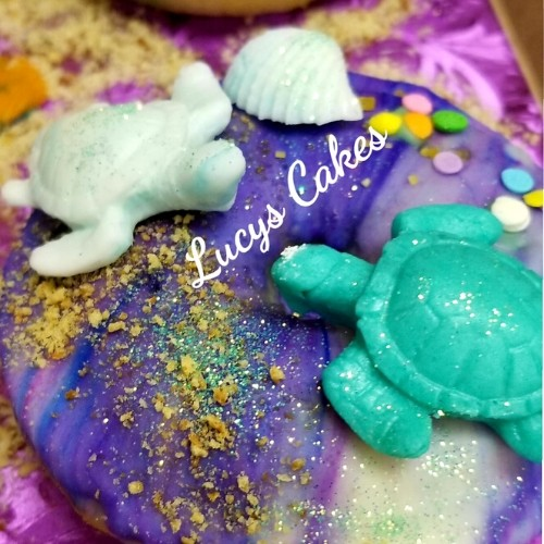 Lucy's Cakes & Crumbs - Sea Life Donuts
