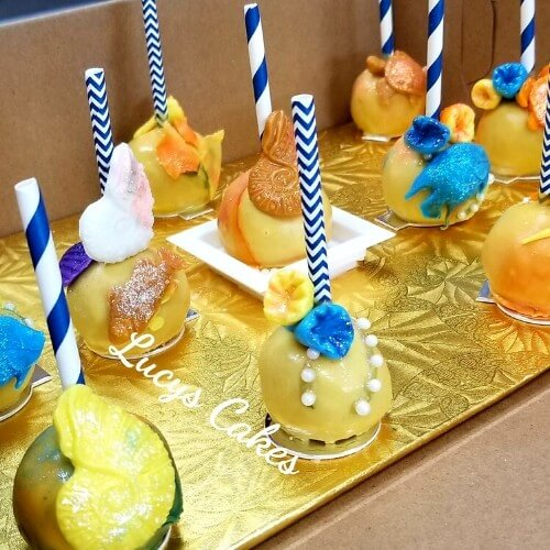 Lucy's Cakes and Crumbs - Sea Life Pops