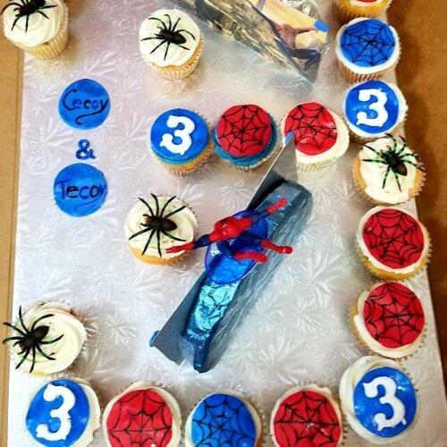 Lucy's Cakes & Crumbs - Spidey