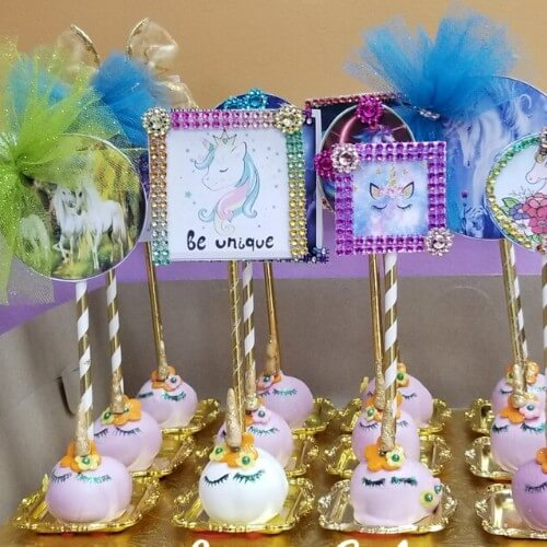 Lucy's Cakes and Crumbs - Unicorn Pops