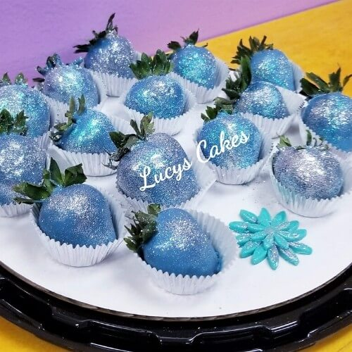 Lucy's Cakes & Crumbs - Blue Strawberries