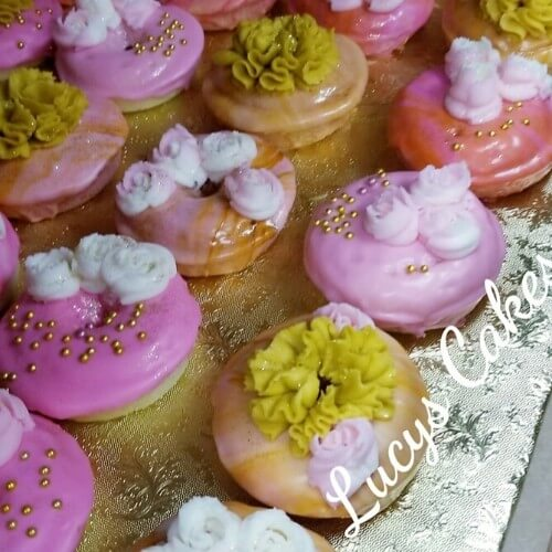 Lucy's Cakes & Crumbs - Bridal Shower Donut