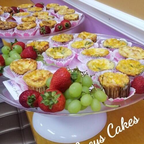Lucy's Cakes & Crumbs - Mini Quiche