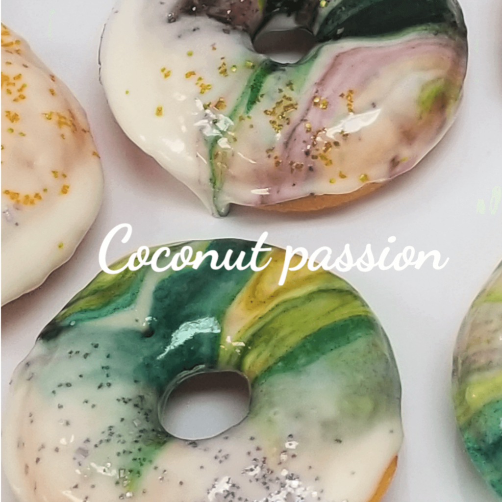Lucy's Cakes & Crumbs - Coconut Passion Doughnuts