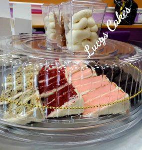 Wedding Cake Tasting Samples